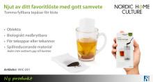 Njut av gott löste utan att behöva rengöra tefilter