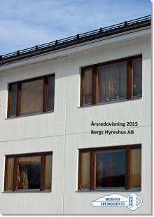 Årsredovisning för Bergs Hyreshus AB år 2015