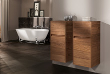 Sophisticated designs and functions –  versatile bathroom furniture from Villeroy & Boch