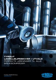 Tyrolit lamellslipeskiver i utvalg