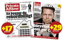 Kraftig ökning i räckvidd för Bonnier Magazines & Brands ekonomititlar