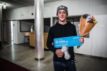 Emilia Fahlin och Lucas Eriksson blir Årets Postcyklist 2018