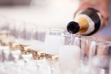 Recept på bubbliga champagnedrinkar