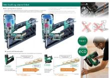 Hitachi 18V Batteridrevne spikerpistoler - frihet uten behov for gass, slange, kompressor eller strøm.
