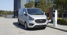 A Ford haszongépjármű-kínálat jövője: elektromos hajtás, adatforgalom