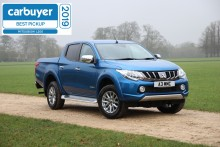 Mitsubishi L200 kåret til beste pick-up i CARBUYER AWARDS for tredje året på rad