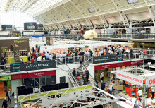 Competition hots up at biggest ever lunch! show