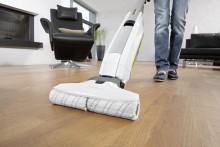 Kärcherin uusi FC 5 -lattiapesuri pesee ja kuivaa kodin lattiat