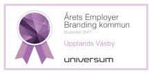 Upplands Väsby årets employer branding-kommun