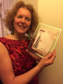 Katinka Greve Leiner hedret med Hjulvispprisen 2015