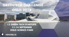 GREENTECH CHALLENGE OSLO 2018