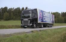Cirkus Cirkör och Scania tänjer gränser