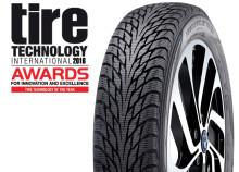 Nokian Hakkapeliitta R2 -talvirenkaalle Tire Technology of the Year 2016 -palkinto