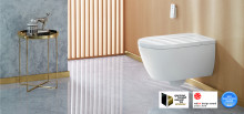 German Brand Award 2018 for Villeroy & Boch – ViClean-I 100 shower toilet and brand win awards