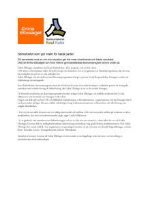 Pressmeddelande Samarbetet mellan Knut Hahn gymnasieskola och Enkla Elbolaget
