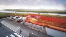 Q8 hæver niveauet på de to nye bæredygtige stop langs Silkeborgmotorvejen