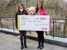 E.ON-Spendenaktion: Bärenherz erhält 10.000 Euro