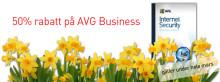 Halva priset på AVG Internet Security Business