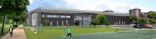 Officiell invigning av Skogås Racketcenter