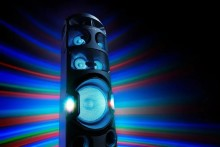 As novas colunas de áudio de alta potência da Sony oferecem-lhe a derradeira experiência de festa