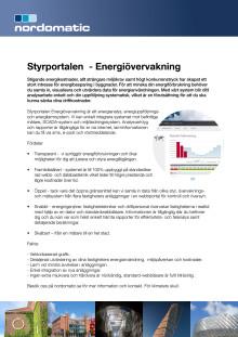 Produktblad Styrportalen Energiövervakning