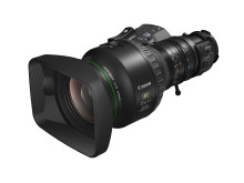 """Canon utökar UHDgc-serien och presenterar en världsnyhet – två lätta zoomobjektiv för 2/3"""" 4k broadcastkameror"""