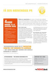 Produktblad Basic