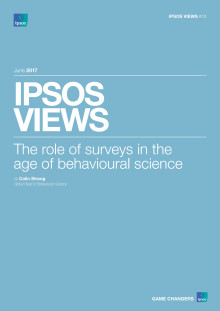 Ipsos - The Role of Surveys in the Age of Behavioural Science