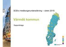 Medborgarundersökning rapportbilaga Värmdö 2015