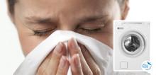 Vaskemaskin med spesielle allergiprogrammer tar godt vare på deg og familien din