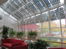 WSP i Örebro drivs nu delvis med egen solel