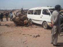 Merlin treating victims of Pakistan refugee camp blast