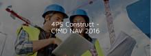 4PS Construct är certifierad för Dynamics NAV 2016