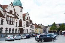 Hot mot Rådhuset i Karlshamn