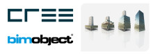 Cree chooses BIMobject® Hercules as their digital platform