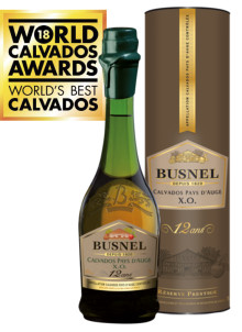 BUSNEL CALVADOS ELECTED WORLD´S BEST CALVADOS OF THE YEAR.