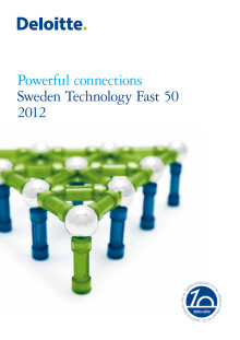 Sweden Technology Fast 50 2012