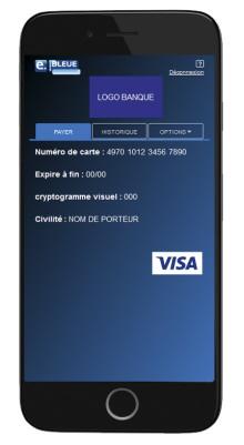 Le service e-Carte Bleue de Visa désormais disponible sur mobile et tablette