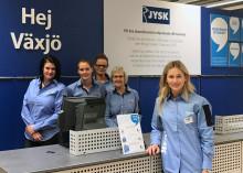 JYSK i Växjö flyttar till Grand Samarkand