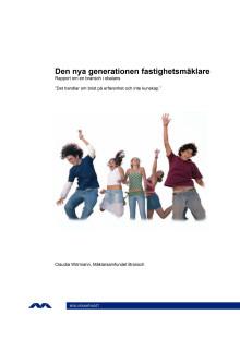Rapport om den nya generationens fastighetsmäklare
