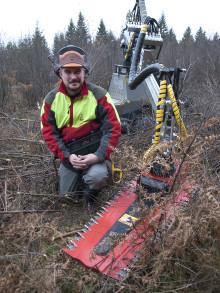 Liten maskin med stort aggregat lösningen för mekanisk röjning? Världspremiär på Elmia Wood 2013.