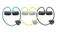 Profitez de votre musique pendant l'entraînement avec le Walkman® WS613 étanche, maintenant avec la technologie Bluetooth®