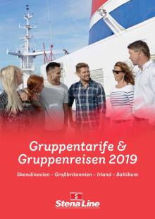 Stena Line  - Gruppentarife und Gruppenreisen 2019