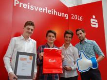 Großes Engagement beim Deutschen Gründerpreis 2015/2016