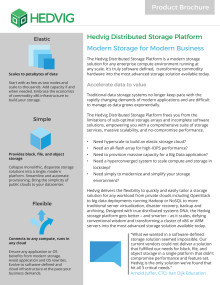 Hedvig: Modern storage for the modern business