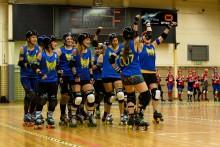 Tufft motstånd på tre håll för Stockholm Roller Derby