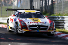 Dunlop celebrate 125th anniversary with victory in the Nuerburgring 24 hour race, partnering Mercedes AMG