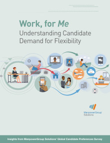 Work, for Me - Understanding Candidate Demand for Flexibility