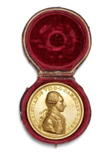 Guldmedalje fra 1700-tallet solgt for 440.000 kr.