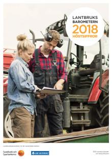 Lantbruksbarometern höstsiffror 2018